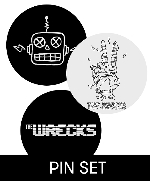 The Wrecks Pin Set