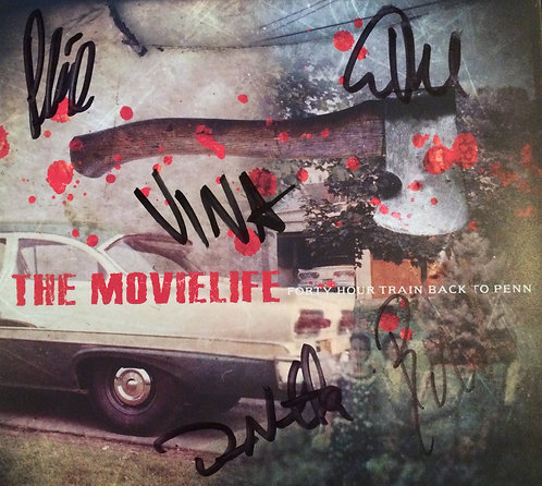 The Movielife SIGNED CD