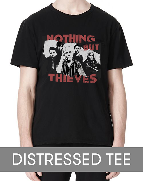 Distressed Tee