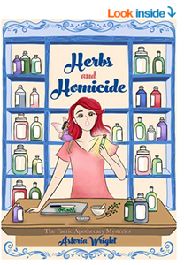 Herbs and Homicide on Amazon