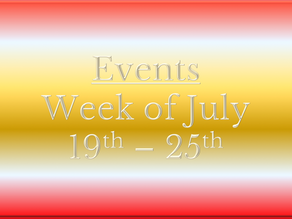 Cozy Mystery Community Events July