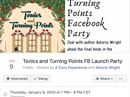 Tonics and Turning Points Facebook Party