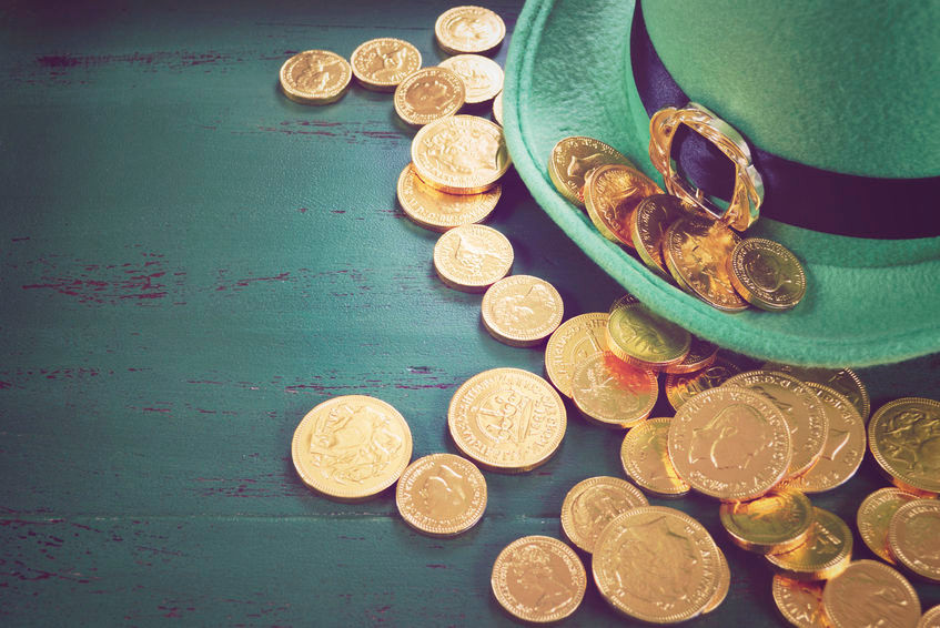 Leprechaun Hat and Coins