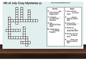 4th of July Crosswords
