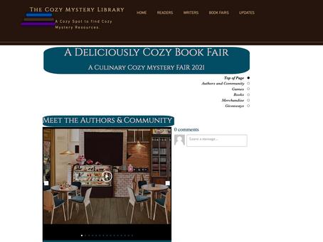 Sneak Peek:  A Deliciously Cozy (Culinary) Book Fair