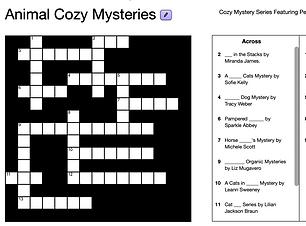 Animal Cozy Mysteries