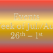 Cozy Mystery Community Events for the Week of July 26th - Aug. 1st
