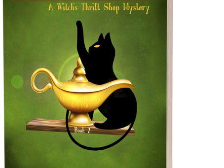 Author Update: A Witch's Thrift Shop Book 2