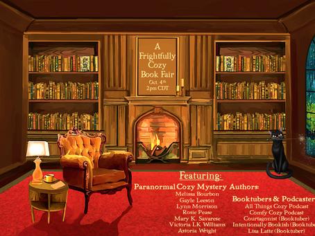 A Frightfully Cozy Book Fair!