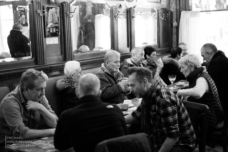 discussion in the pub
