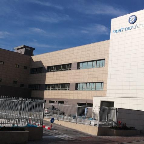 הקמת מבנה ביטוח לאומי בכרמיאל