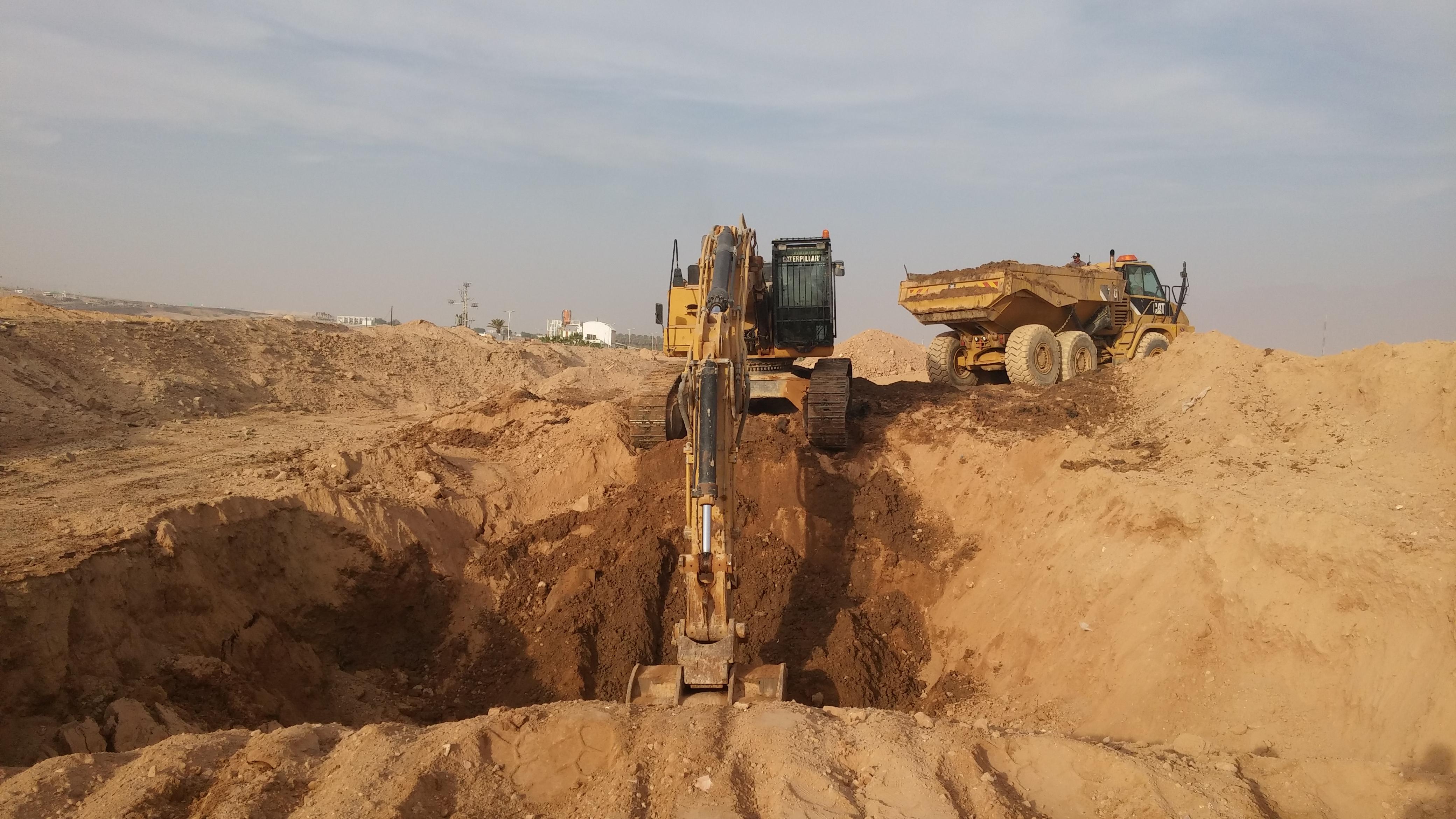 עבודות עפר וביסוס