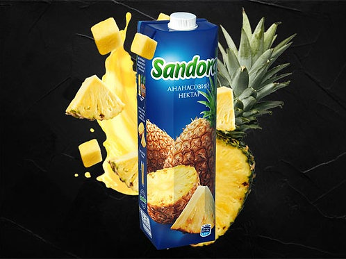 Сік ананасовий 1000мл