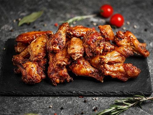 Курячі крильця у гірчично медовому соусі (900г)