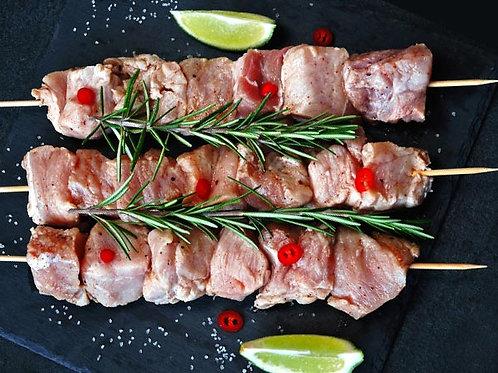 Шашлик зі свинини в маринаді