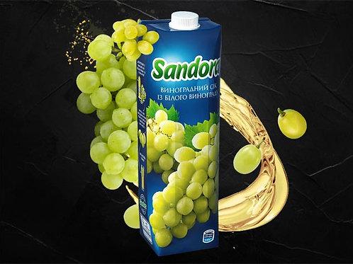 Сік виноградний білий 1000мл