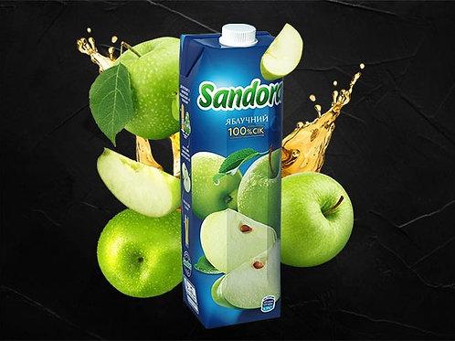 Сік яблучний 1000мл