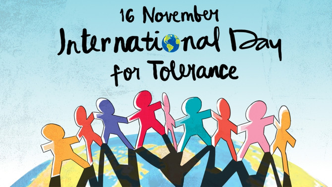 Make A Difference on International Day for Tolerance