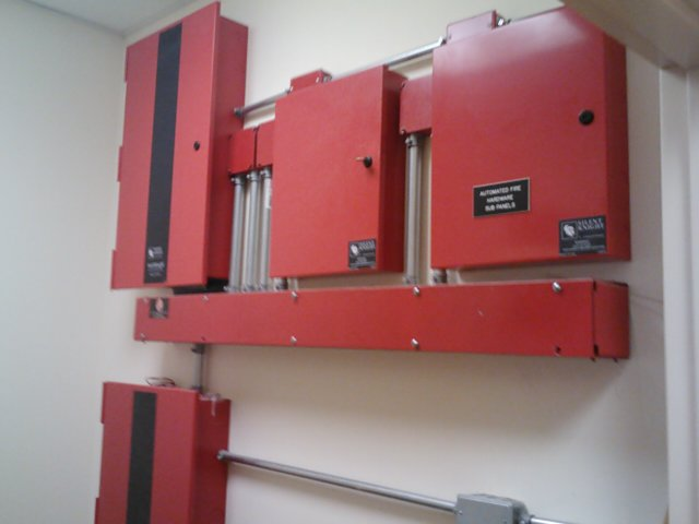 Fire Alarm System at Hospital