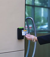 Proximity Card Reader for access security