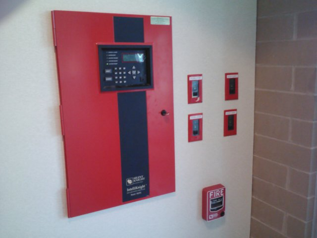 Fire Alarm Vestibule of a Hospital