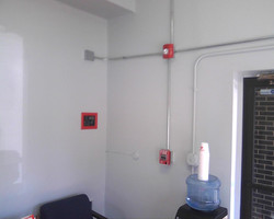 EMT Security System Wiring Layout