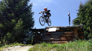 Downhill in Serfaus