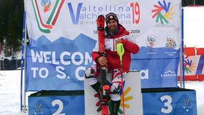 Winter Deaflympics 2019 in Italien