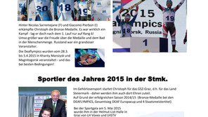 Zusammenfassung der Skisaison 2014/15