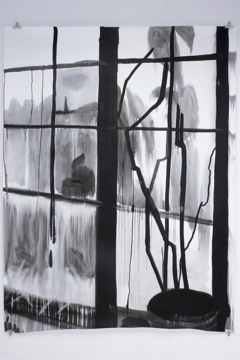 Ateljé fönster