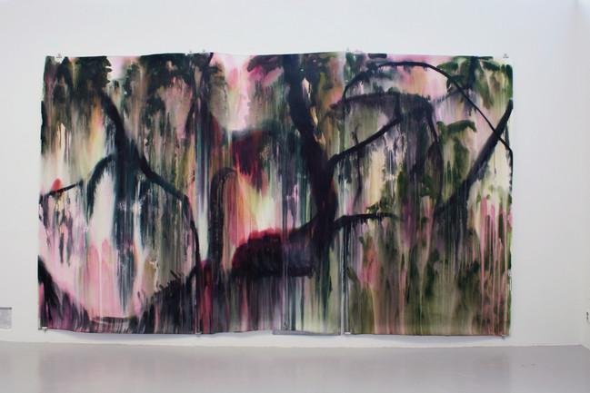 Vresbok, Galleri Mejan, akryl på papper, 2017