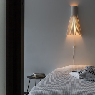 applique luminaire secto bois scandinave