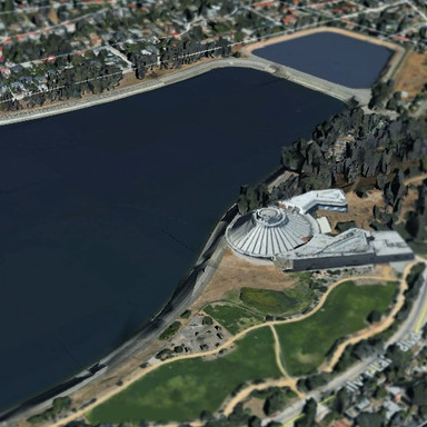 SPACE MOUNTAIN AT SILVER LAKE