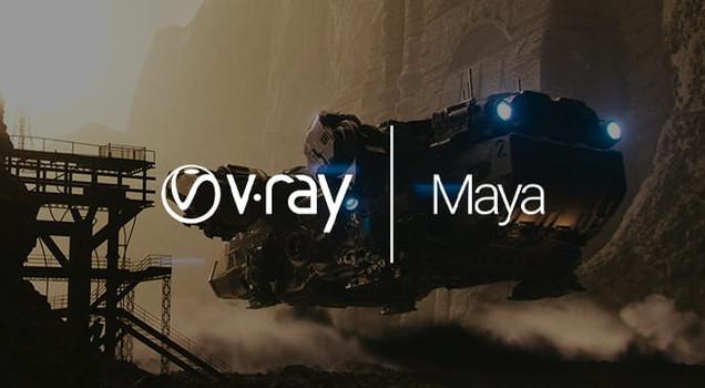 V-RAY PARA MAYA