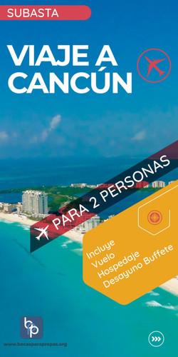 Trip to Cancun, 2 people 3 days