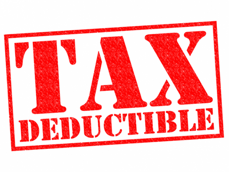 Tax Deductible Receipts for USA Contributors