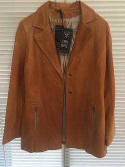 Ladies Italian Leather Coat