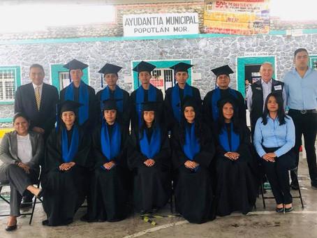 BPP attends Graduation ceremony at Popotlan