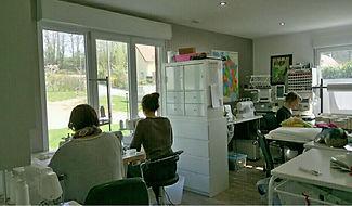 atelier de couture Coton bio bambou lingettes lavables écologique biologique démaquillage lavage visage oeko tex artisanat français
