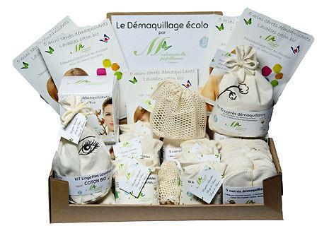 box demaquillage ecologique point de vente biologique