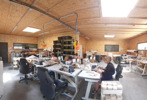 atelier de couture coton demaquillant