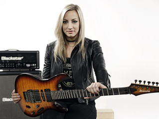 Nita Strauss, descendiente de Johann Strauss II