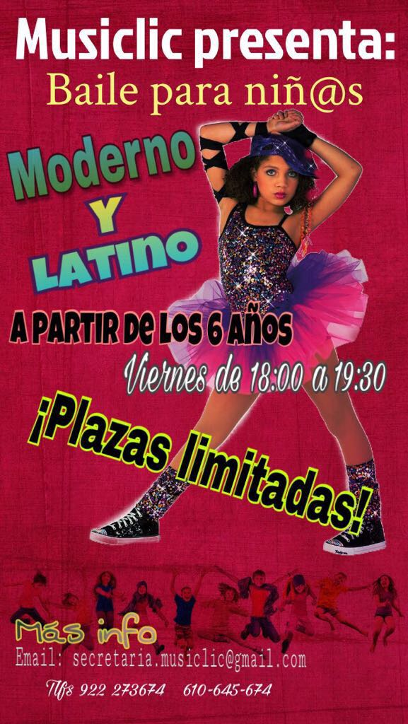 Moderno y latino para niños