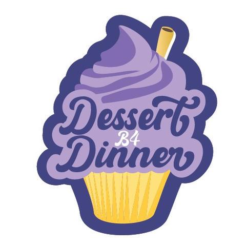 Dessert B4 Dinner Logo Concept