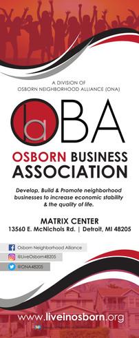 Osborn Business Association Retractable Banner