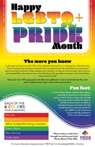 Pride Month Poster