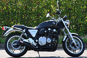 CB1100 ONE-PIECE SUS BLACK 10