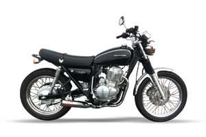 CB400SS SHORT CLASSIC CHROME ALL