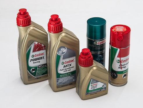 Aceites y lubricantes CASTROL