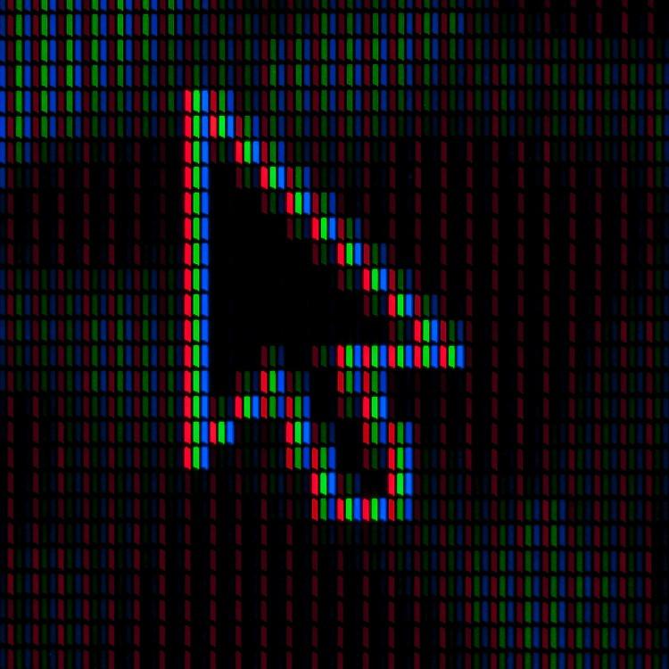 I pixel di un puntatore del mouse